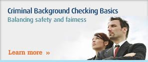 Criminal Background Checking Basics