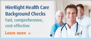 HireRight Health Care Background Checks